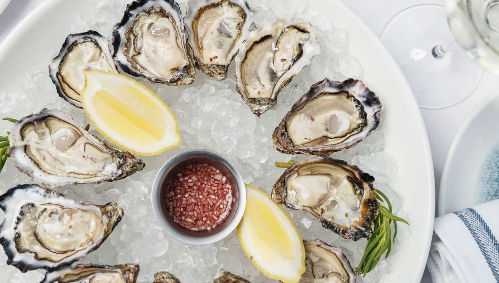 Oysters and Moet - HFSR